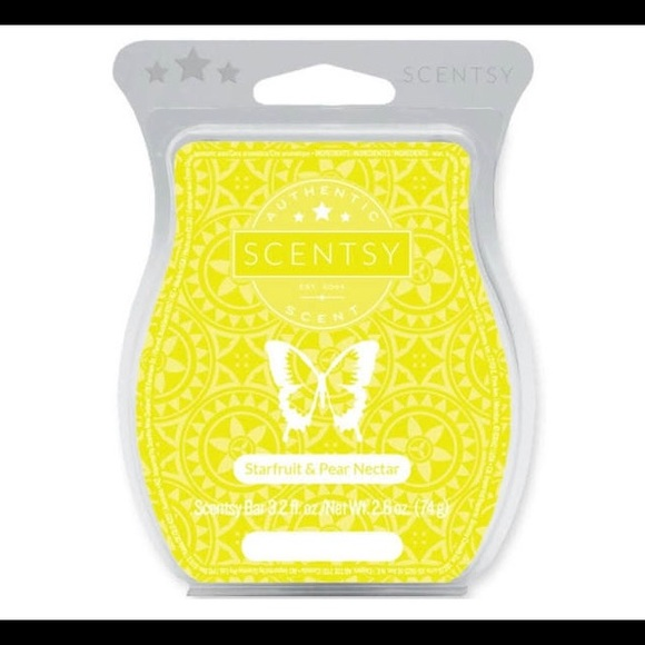 ***SOLD***Star fruit and pear nectar Scentsy wax
